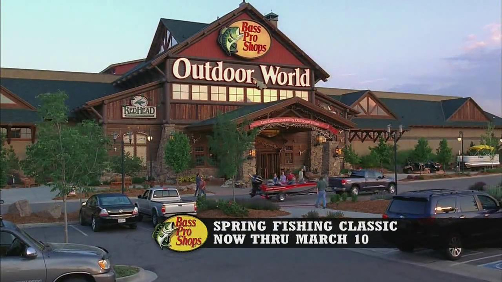 Bass pro shops spring fishing classic tv commercial for Bass pro shop fishing