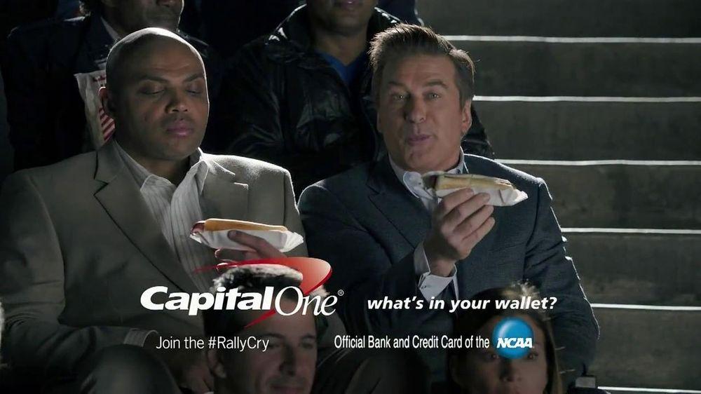 Capital One TV Spot, 'For Later' Feat. Alec Baldwin, Charles Barkley - Screenshot 9
