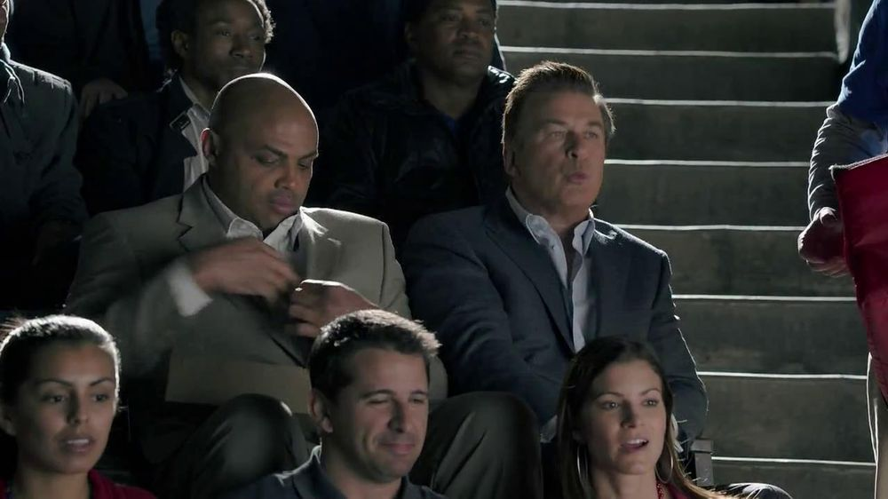 Capital One TV Spot, 'For Later' Feat. Alec Baldwin, Charles Barkley - Screenshot 5