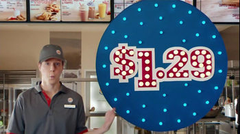 Burger King Whooper Jr. TV Spot, '1.29'