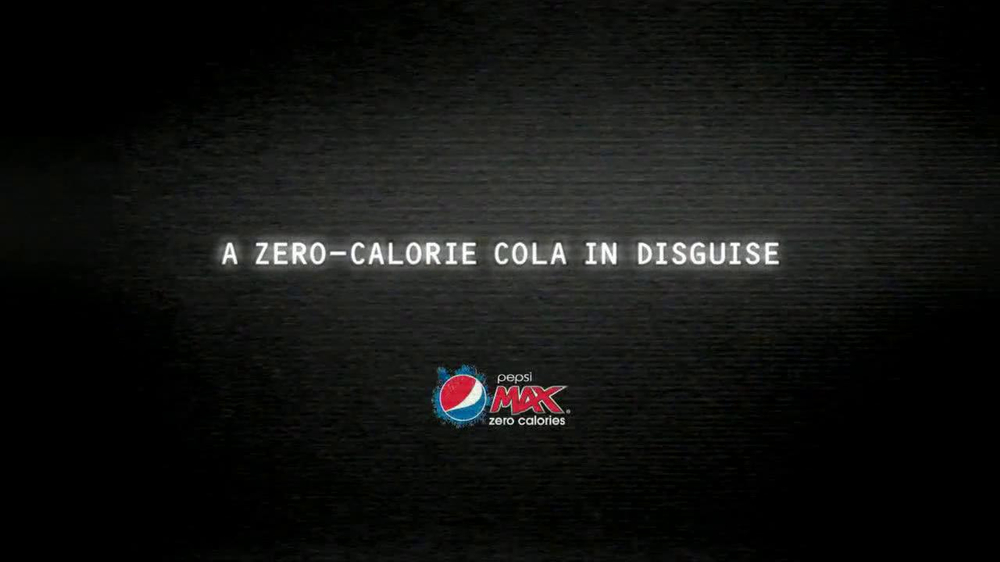 Pepsi Max TV Spot, 'Disguise' Featuring Jeff Gordon  - Screenshot 3