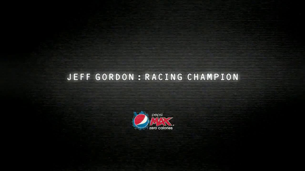 Pepsi Max TV Spot, 'Disguise' Featuring Jeff Gordon  - Screenshot 5