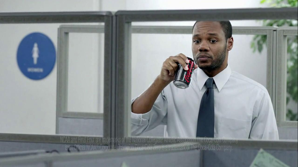 Coca-Cola Zero TV Spot, 'Office Brackets' - Screenshot 5