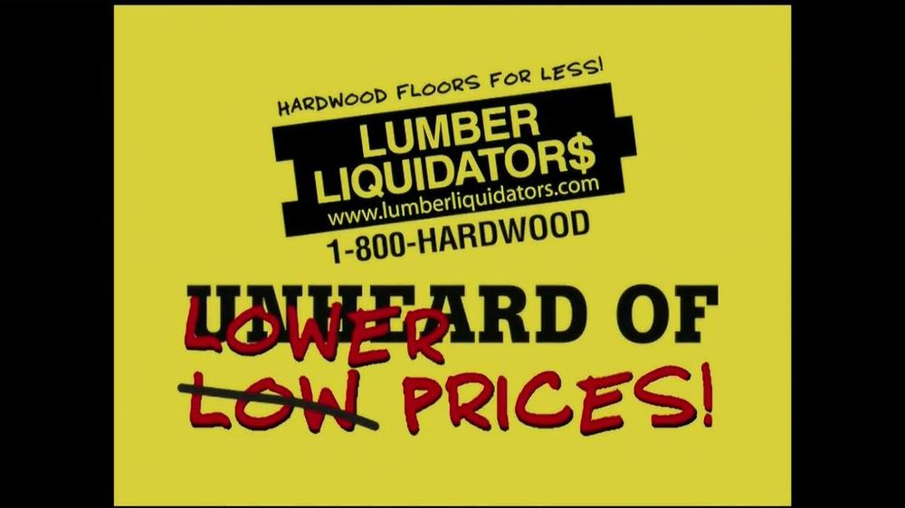 Flooring Sale Flyer : Lumber liquidators laminate flooring sale tv commercial