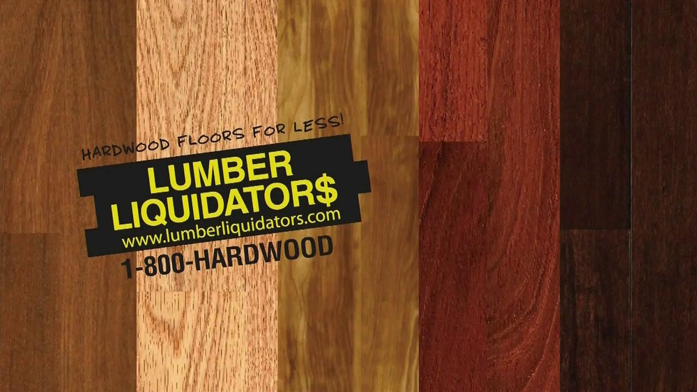 Lumber Liquidators Best for Less Flooring Sale TV ...