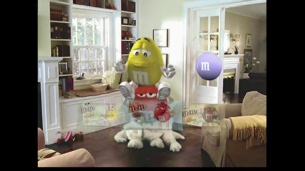 M&M's TV Spot, 'Easter Bunny Costume' - Screenshot 10