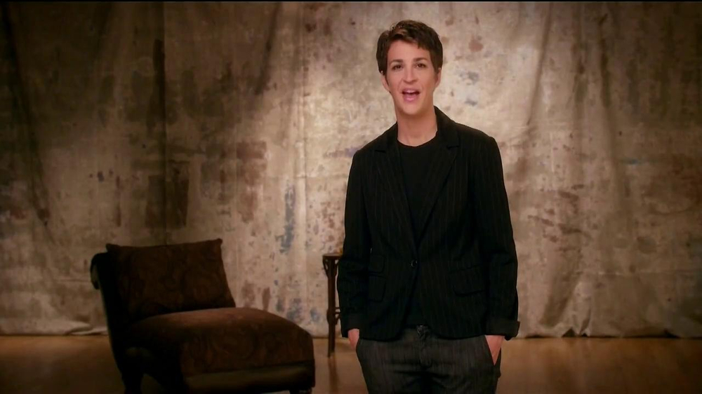 The More You Know TV Spot, 'Express Yourself' Featuring Rachel Maddow - Screenshot 1