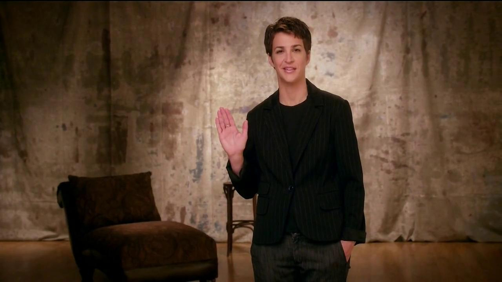 The More You Know TV Spot, 'Express Yourself' Featuring Rachel Maddow - Screenshot 3