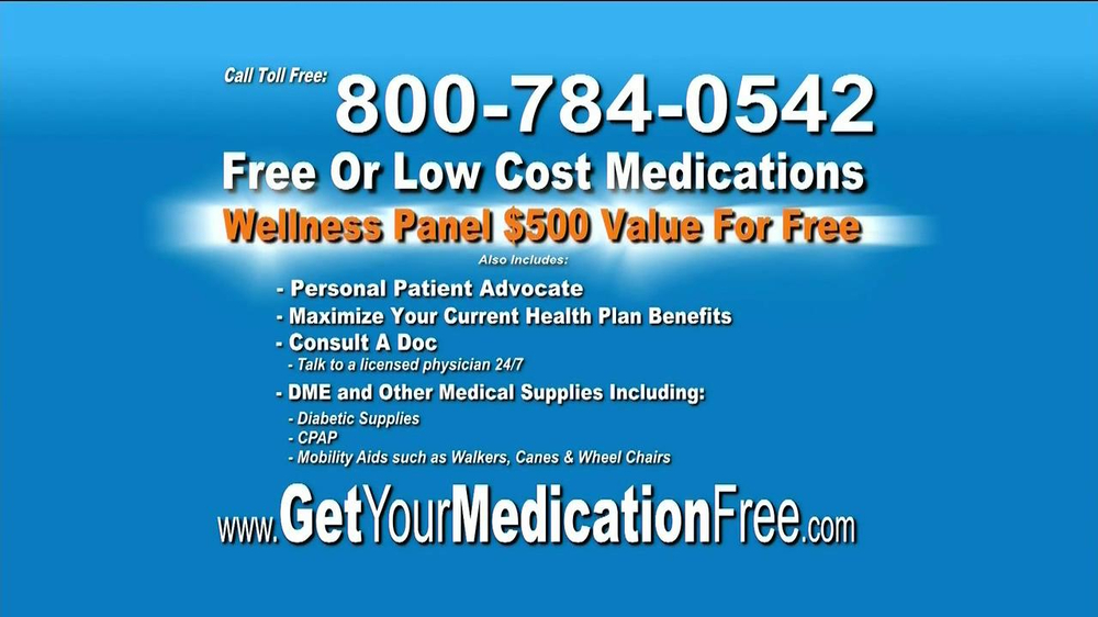 GetYourMedicationFree.com TV Spot - Screenshot 9