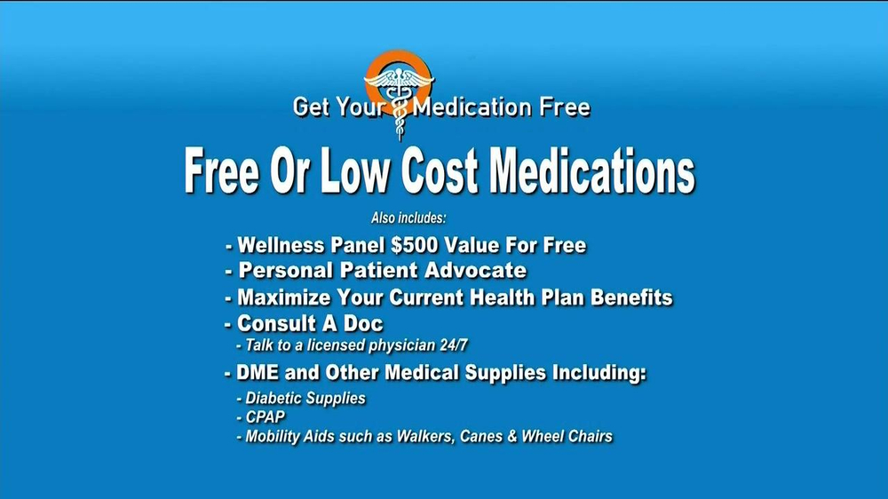 GetYourMedicationFree.com TV Spot - Screenshot 4