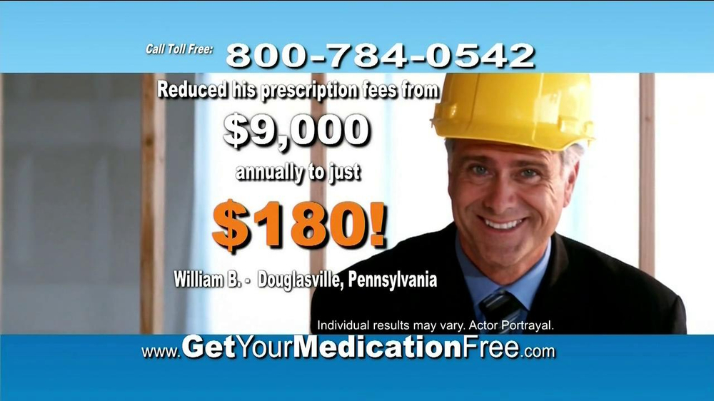 GetYourMedicationFree.com TV Spot - Screenshot 5