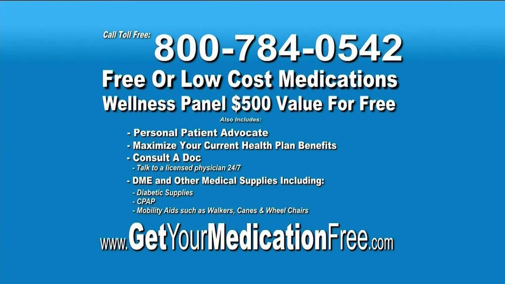 GetYourMedicationFree.com TV Spot - Screenshot 8