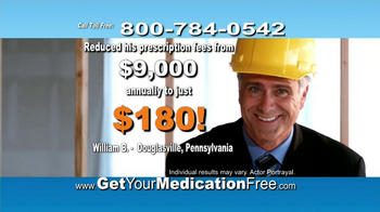 GetYourMedicationFree.com TV Spot - Thumbnail 5