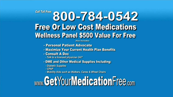 GetYourMedicationFree.com TV Spot - Thumbnail 8
