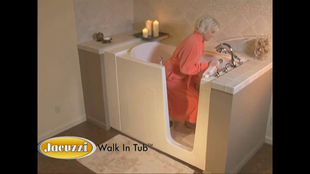 Jacuzzi Walk In Tub Tv Commercial Featuring Ross Mcgowan