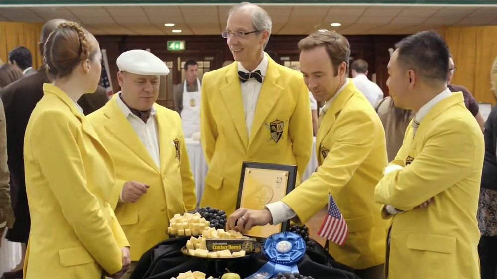 Cracker Barrel Aged Reserve TV Spot, 'World Championship Cheese Contest' thumbnail