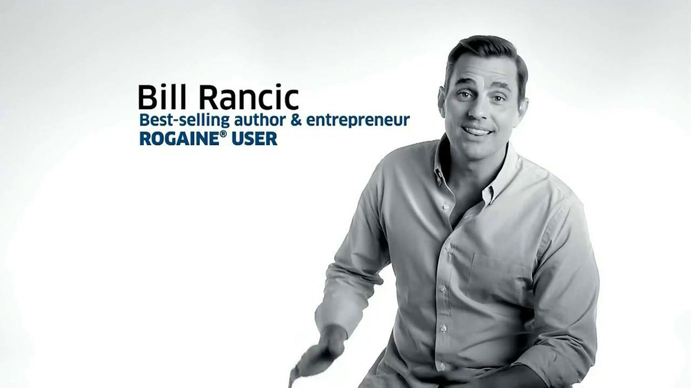 Rogaine Foam TV Spot Featuring Bill Rancic - Screenshot 1