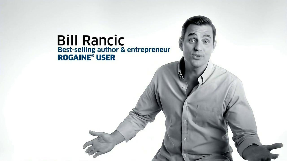 Rogaine Foam TV Spot Featuring Bill Rancic - Screenshot 2