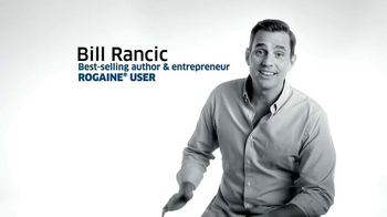 Rogaine Foam TV Spot Featuring Bill Rancic - Thumbnail 1