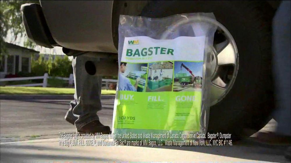 Waste Management Bagster Bag TV Commercial, 'Plan for the ...