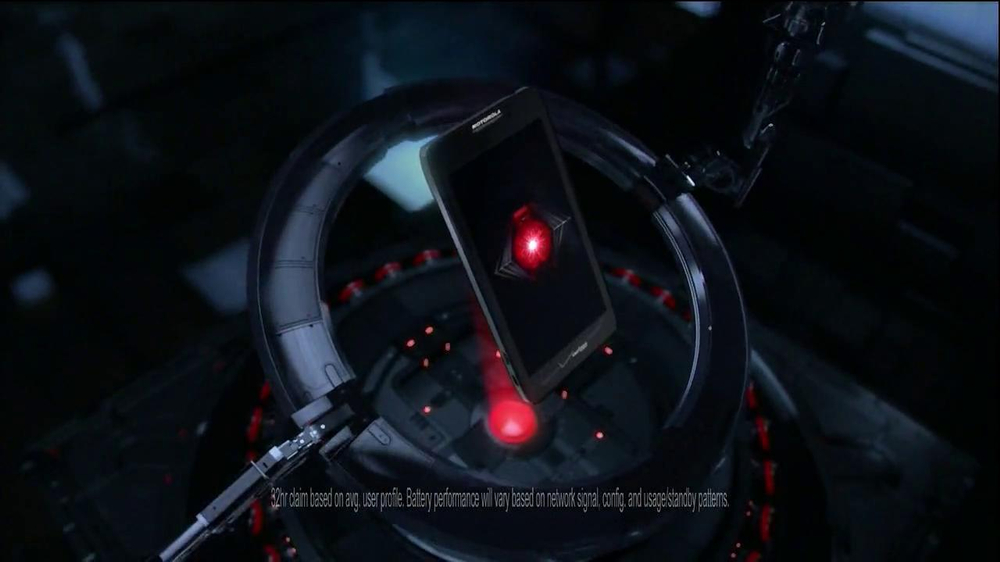Motorola Droid Razr Maxx HD TV Spot, 'Droid Endurance' Song by Contrakids - Screenshot 6