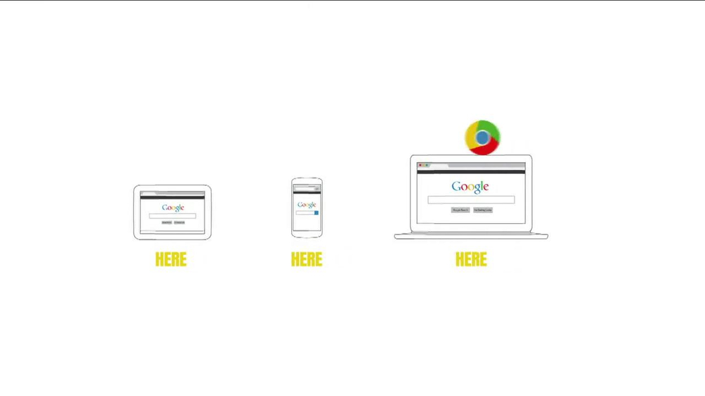 Google Chrome TV Spot, Song by Beethoven - Screenshot 3