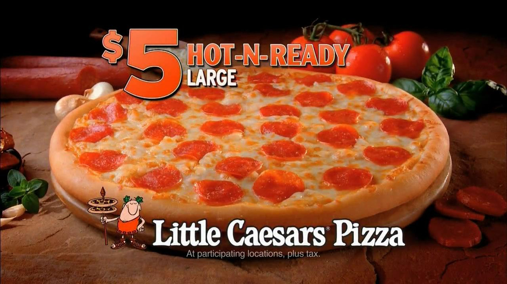 Little Caesars Hot-N-Ready Pizza TV Spot, 'Something New' - Screenshot 7