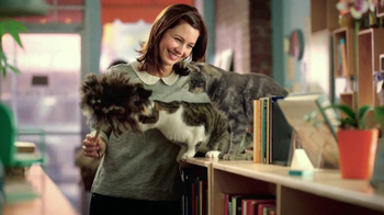 Purina Cat Chow Healthy Weight TV Spot, 'Bookstore'