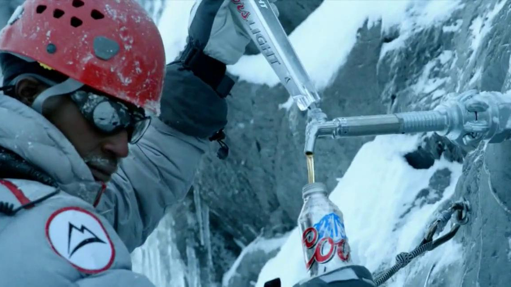 Coors Light TV Spot, 'Mountain Tap' - Screenshot 4
