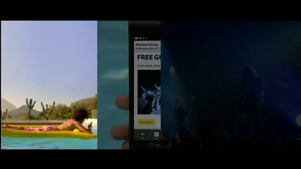 BlackBerry Z10 TV Spot, Song by Tame Impala - Screenshot 7