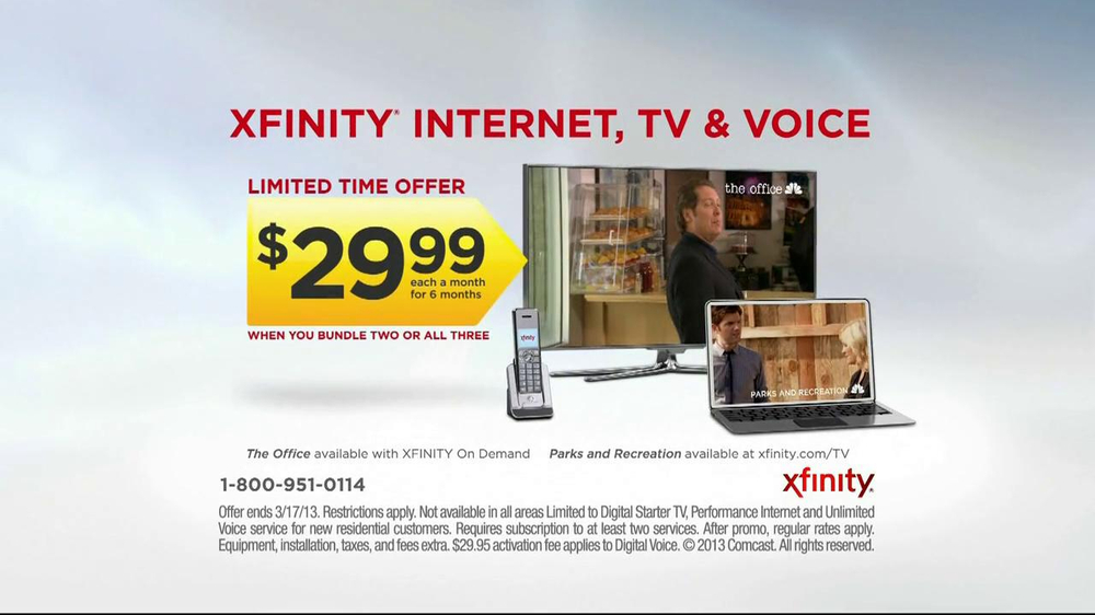 Apr 17,  · Comcast internet ninggifunan.ga TV package I have comcast internet only, at an elevated rate ( a month with the increase for Xfinity). What benefits are available for internet only customers, if .