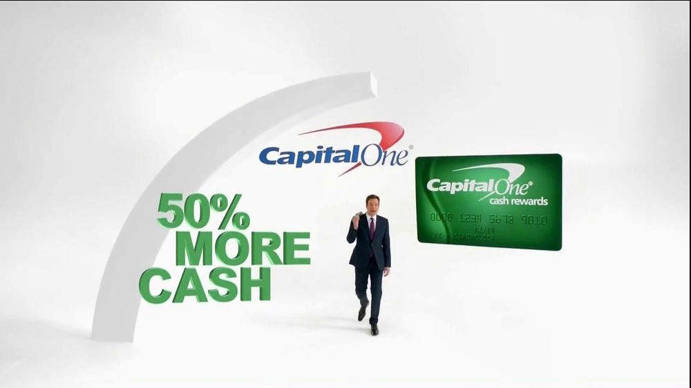 Capital One TV Spot, '50% More' Featuring Jimmy Fallon - Screenshot 1