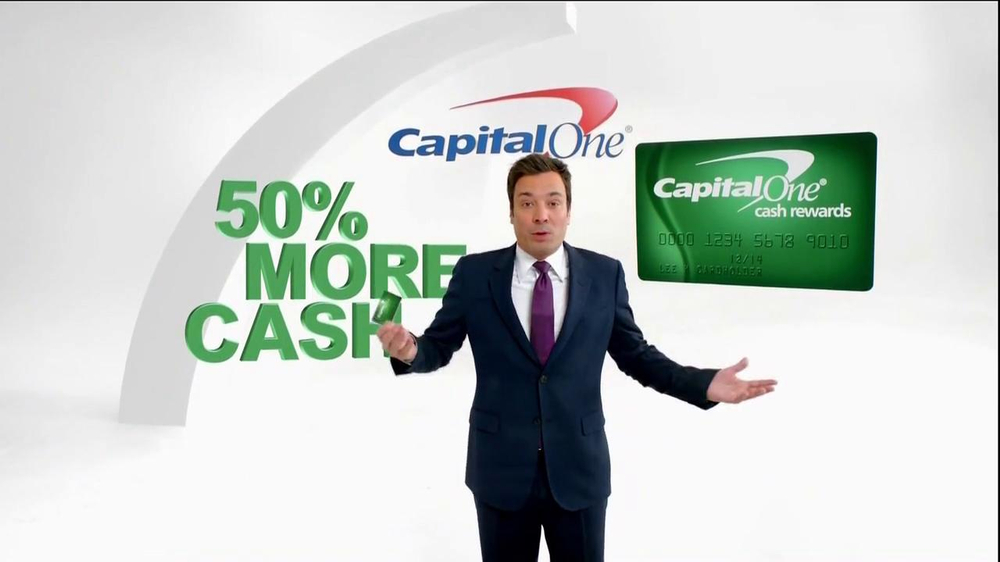 Capital One TV Spot, '50% More' Featuring Jimmy Fallon - Screenshot 3