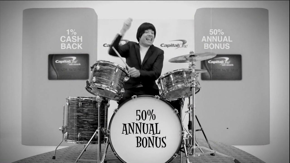 Capital One TV Spot, '50% More' Featuring Jimmy Fallon - Screenshot 7