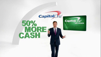 Capital One TV Spot, '50% More' Featuring Jimmy Fallon - Thumbnail 2