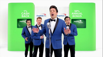 Capital One TV Spot, '50% More' Featuring Jimmy Fallon - Thumbnail 4