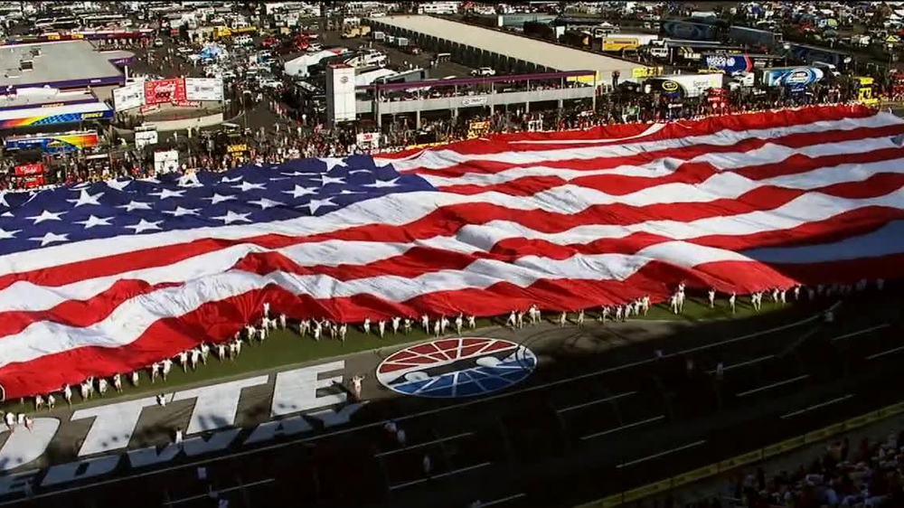 Charlotte motor speedway tv commercial 39 troops 39 featuring for Tickets to charlotte motor speedway