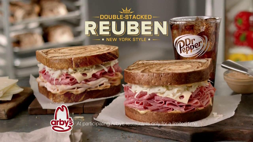 Arby's Reuben's Sandwich TV Spot, 'Get Outta Here' - Screenshot 9