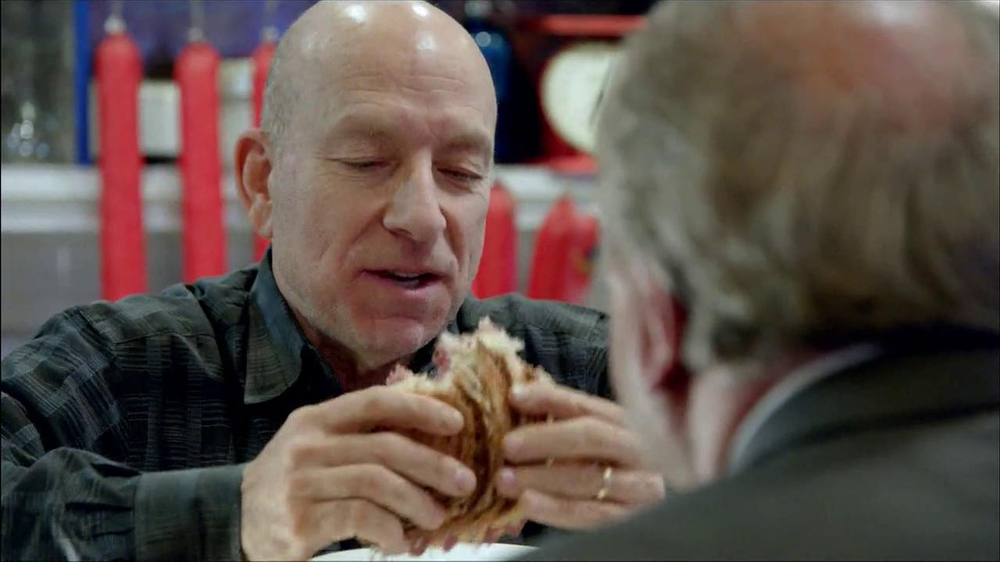 Arby's Reuben's Sandwich TV Spot, 'Get Outta Here' - Screenshot 5