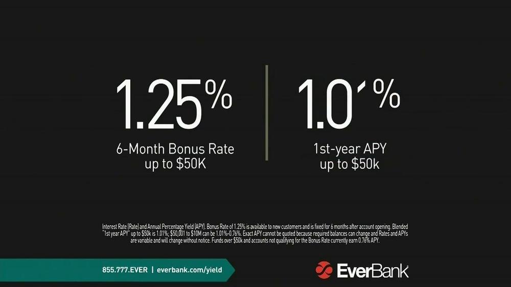 Western Sky Loans >> EverBank TV Commercial, 'Yield Pledge Money Market Pledge ...