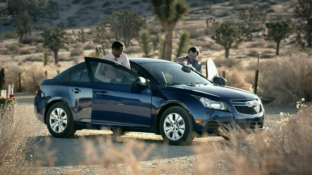 2013 Chevrolet Cruze LS TV Spot, 'Road Trip Test Drive' - Screenshot 7