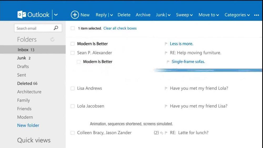 Microsoft Outlook TV Spot, 'Get Going' Song by Macklemore - Screenshot 3