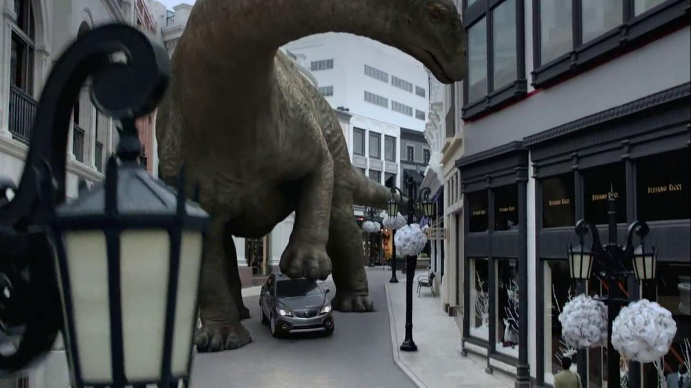 2013 Buick Encore TV Spot, 'Dinosaurs' Song by They Might Be Giants - Screenshot 4