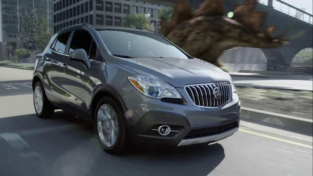 2013 Buick Encore TV Spot, 'Dinosaurs' Song by They Might Be Giants - Screenshot 7