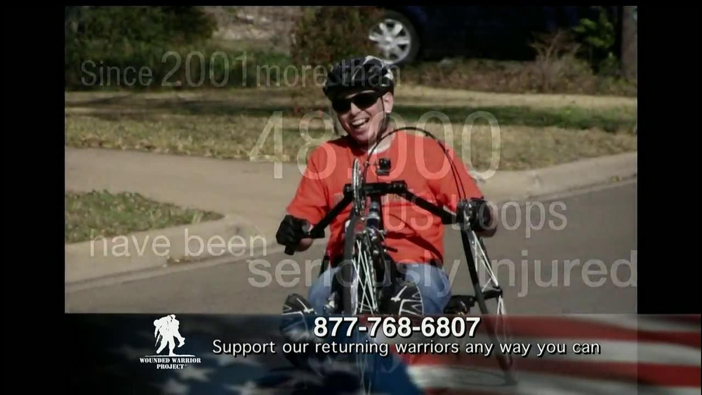Wounded Warrior Project TV Spot, 'Alan' Featuring Trace Adkins - Screenshot 7