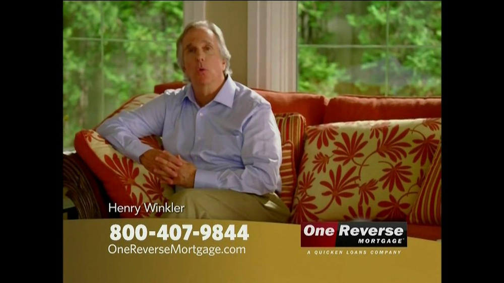One Reverse Mortgage TV Spot, 'Retirement' Featuring Henry Winkler  - Screenshot 2