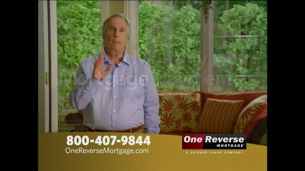 One Reverse Mortgage TV Spot, 'Retirement' Featuring Henry Winkler  - Screenshot 4