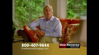 One Reverse Mortgage TV Spot, 'Retirement' Featuring Henry Winkler