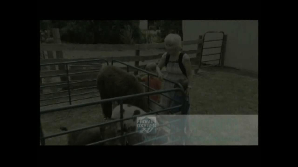 Home Oxygen 2-U TV Spot, 'Farm Animals' - Screenshot 1