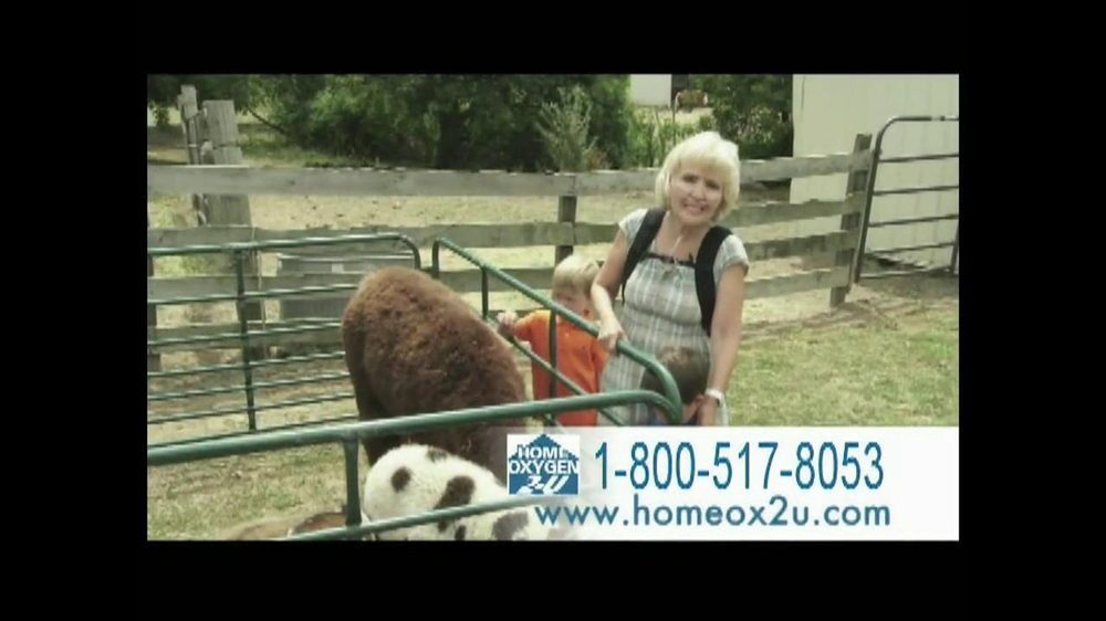 Home Oxygen 2-U TV Spot, 'Farm Animals' - Screenshot 2